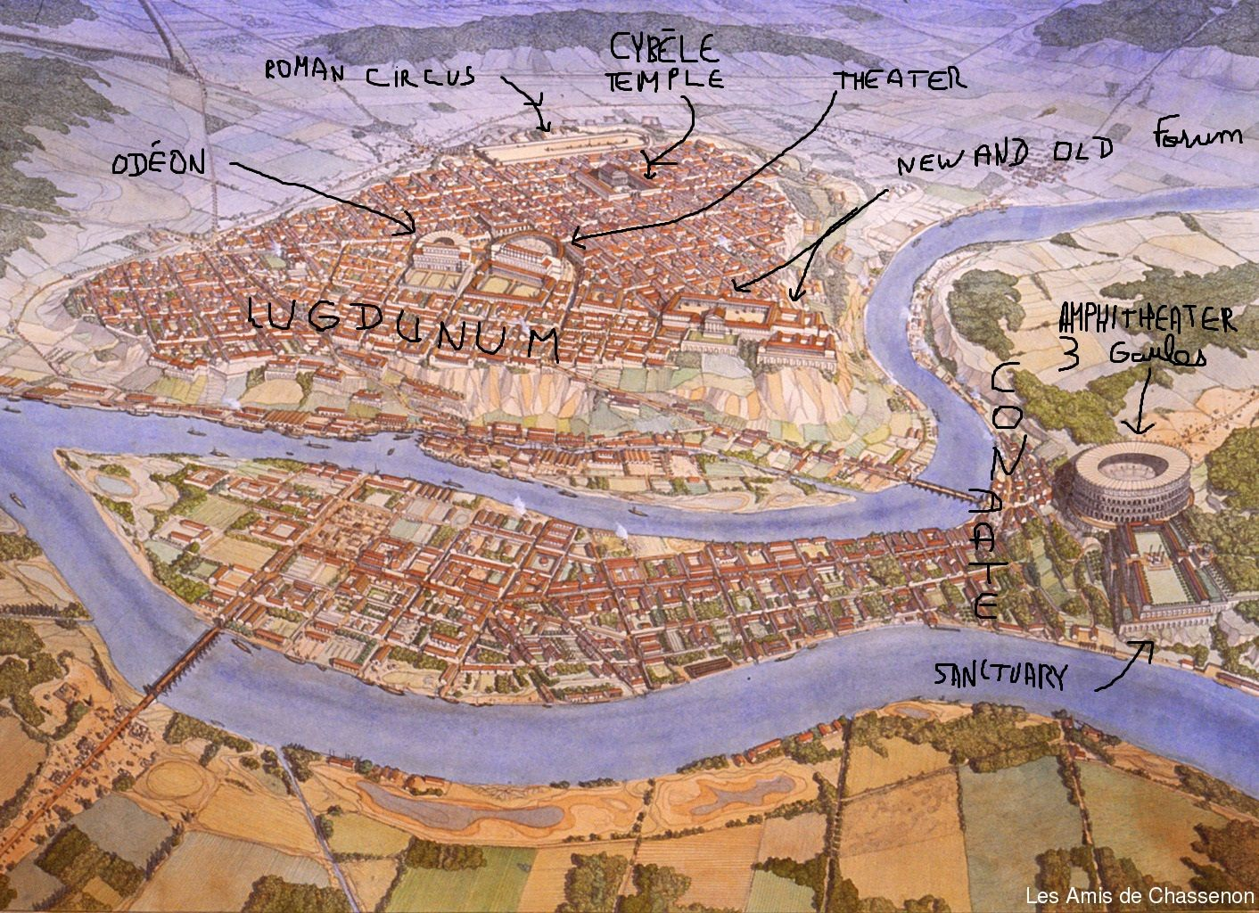Middle East Map With Capitals%0A GAULS CAPITAL  CITY OF LYON  Founded c   AD Served as the capital