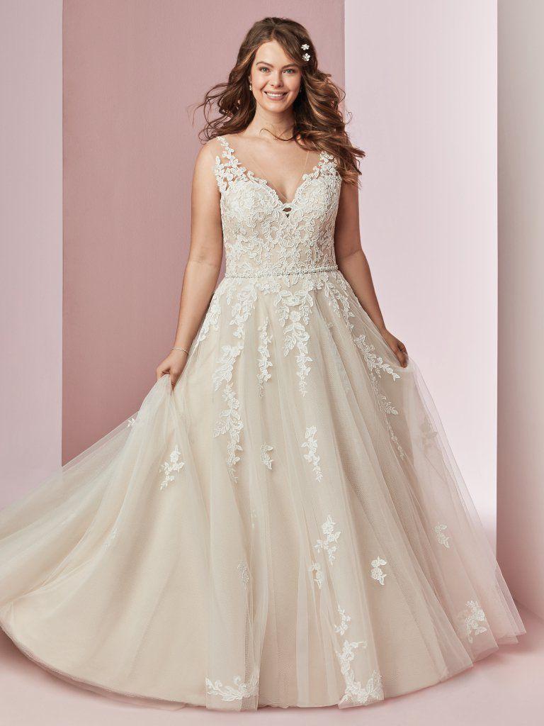 491647b045 Vestido de noiva Plus size - Coleção 2019