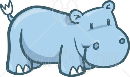Clip Art Hippo Use These Free Images For Your Websites Art Projects Reports And Free Clip Art Clip Art Pebble Pictures