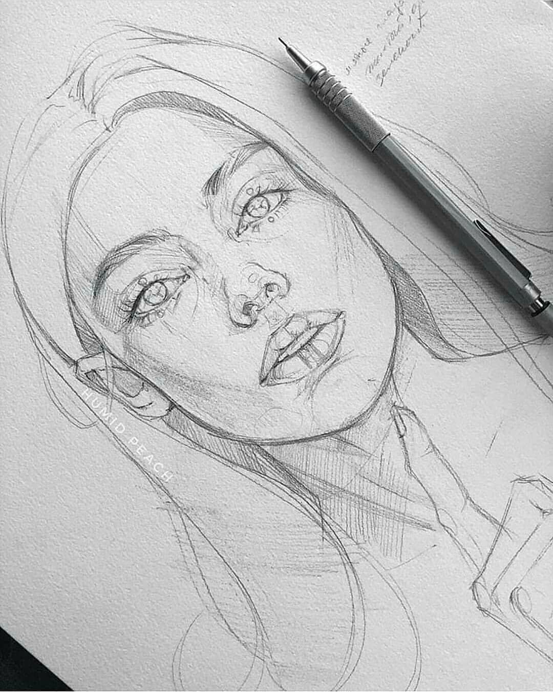 Amazing sketch! By @humid_peach . Follow us @art.discover for more #sketchart