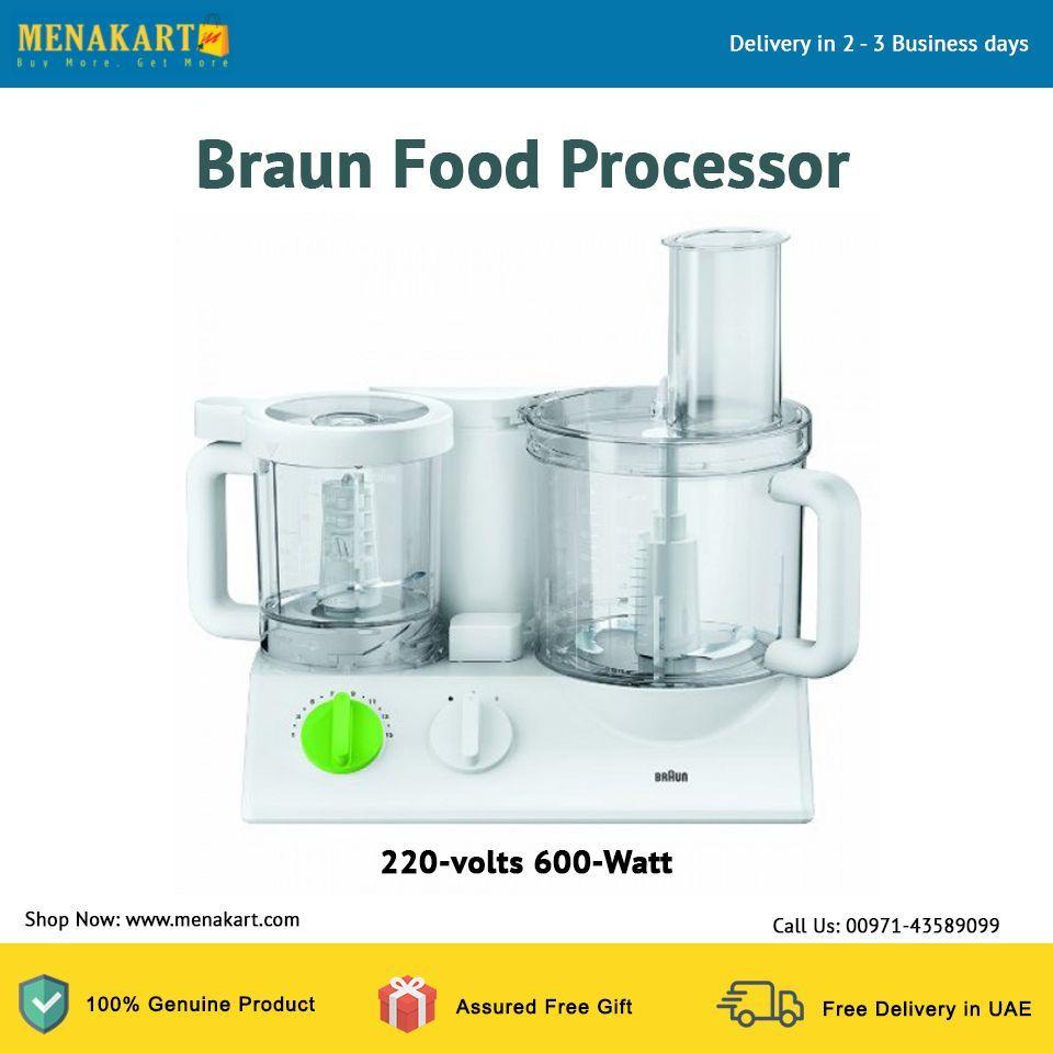 Braun Food Processor, 220-volts 600-Watt   Cooking Health - recipes ...
