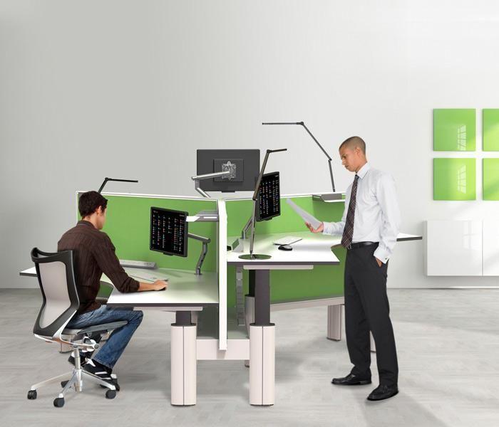 Paradigm Sit Stand Adjustable Height Desk Sit Stand Workstation Workstation