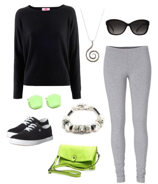 What to wear with fleece leggings - totally comfortable outfit!
