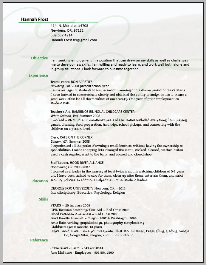 resume, nice understated background | IMPACT Consulting Ideas ...