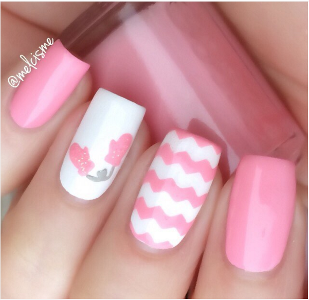33 Cute Pink Nail Designs You Must See - 33 Cute Pink Nail Designs You Must See Pink Nails, Finger Nail