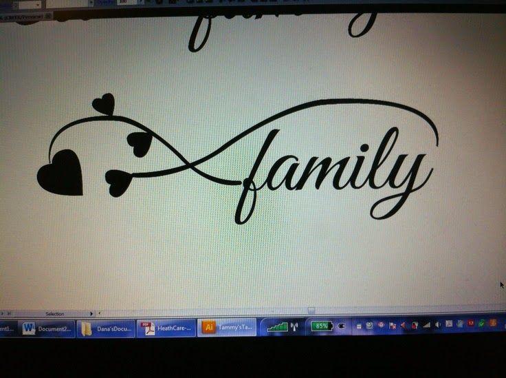 Family Infinity Tattoos Designs Infinity Symbol Ties It All Tattoo
