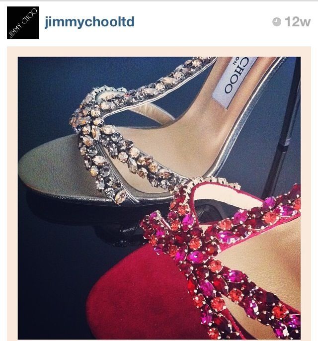 6bd5c1d78ffa Say I do to Choo in these blinged out Jimmy Choo Sandals