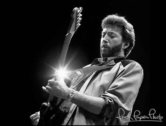 Eric Clapton by Ken Settle.