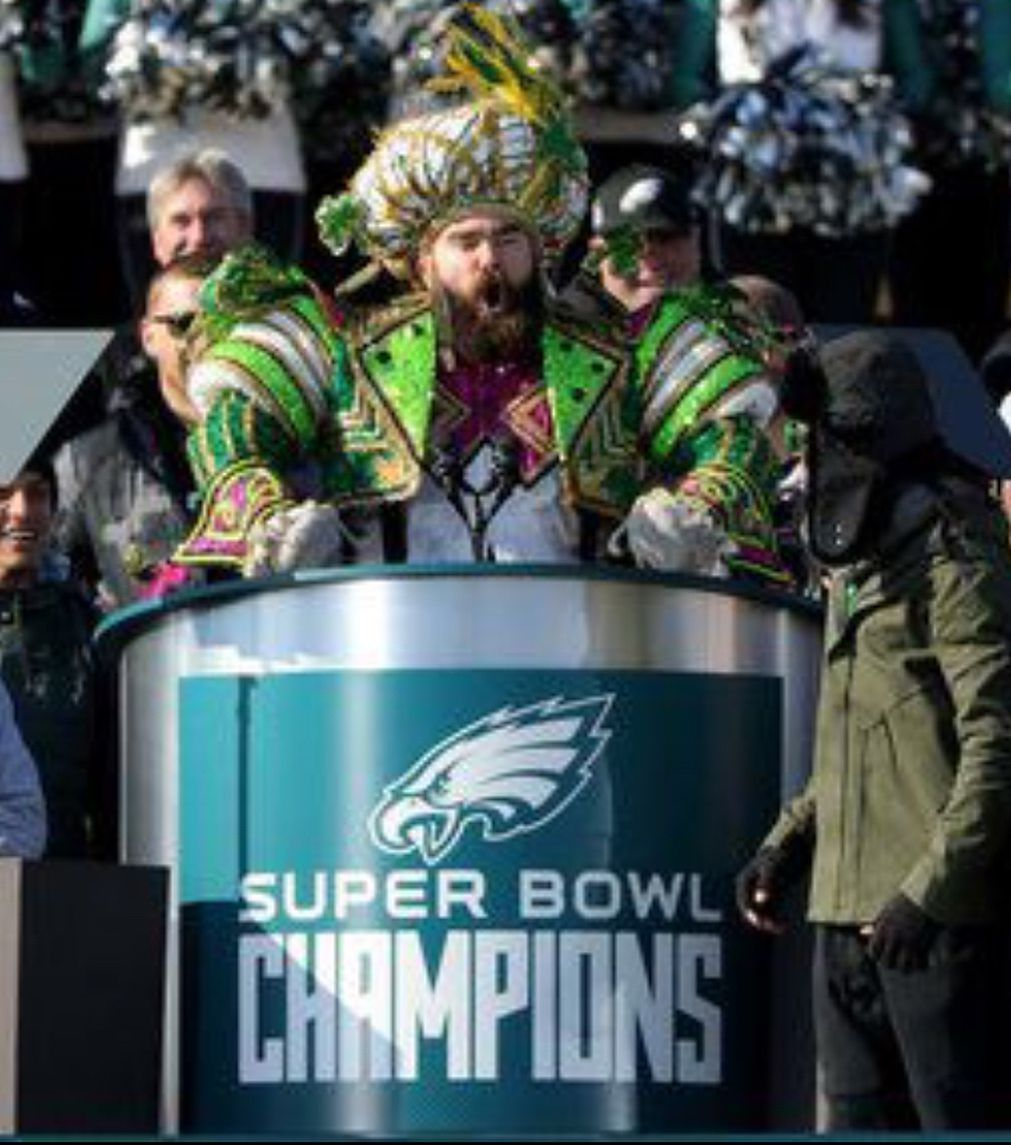 bb06525fb3132d Jason Kelce Philadelphia Eagle and bad ass. Super Bowl Champion. Fing  Philly no one