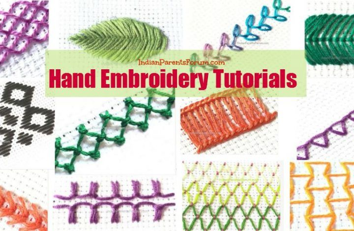 Embroidery Stitch Gallery