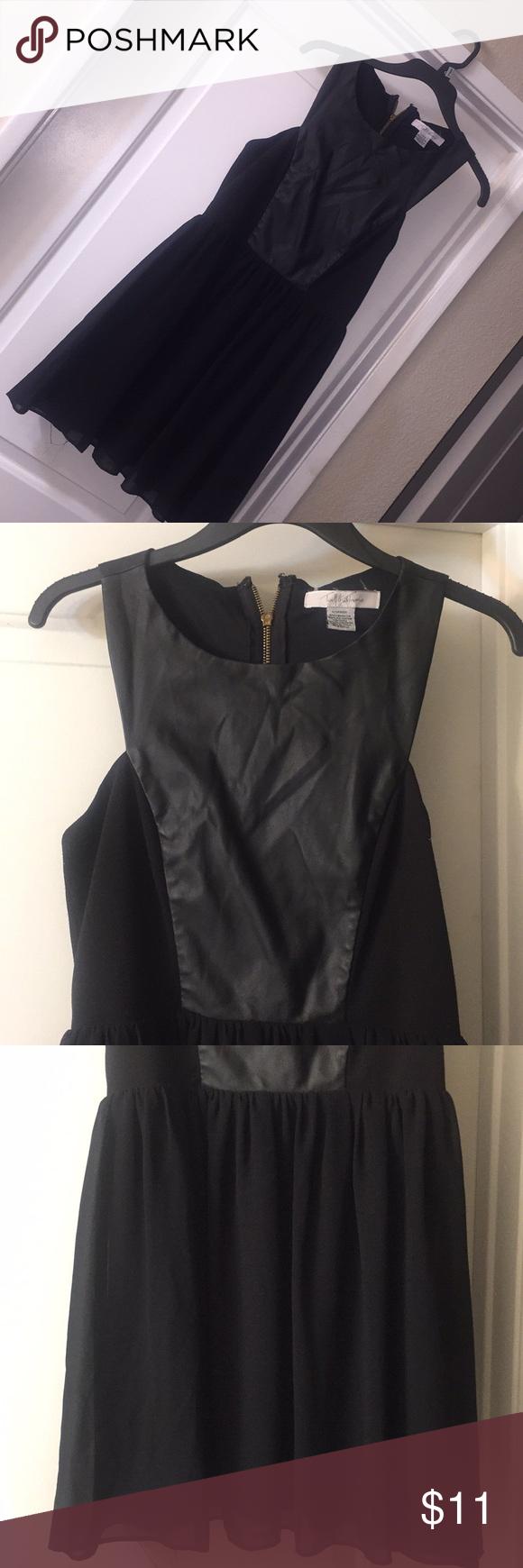 Sz L Twelfth & Towne lil black dress Sz L Twelfth & Towne lil black