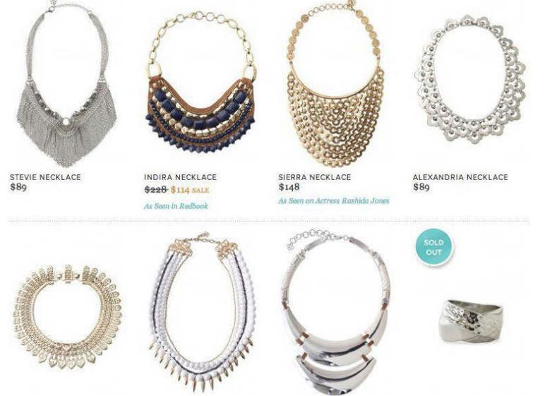 """""""People.com"""" Exclusive Statement Necklace offer"""