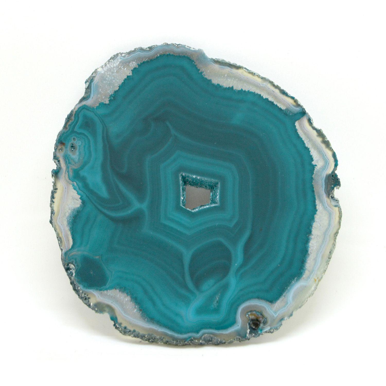 d0be8ab630f Chapa de Pedra Ágata Verde 12 a 13 cm