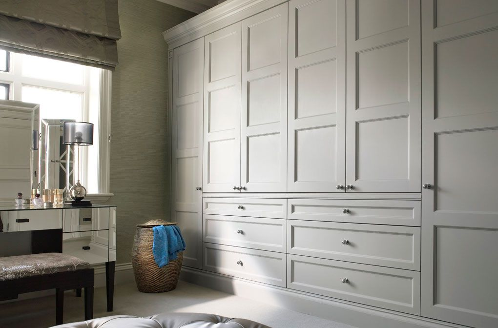 Vanilla Interiors In Yorkshire Becomes A Distributor Of Luxury Bespoke Fitted Wardrobes From The Engl Bedroom Built In Wardrobe Bedroom Design Build A Closet
