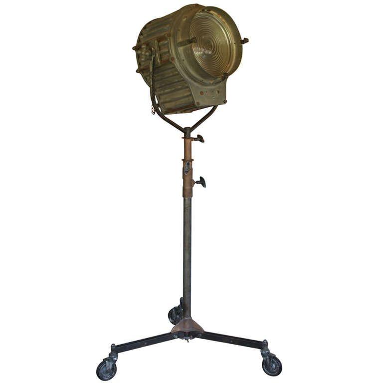 Industrial Floor Stage Spotlight Lamp By Arro | Spotlight lamp ...