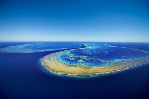 The Great Barrier Reef has long been a favourite for visitors to Queensland but for a truly epic view you need to get up in the air! Flying over Hardy Reef I captured this photo from 1000ft to showcase the colours, patterns and beauty of the landscape. For more images visit - http://www.thewanderinglens.com/ Discovered by Lisa Michele Burns at Hardy Reef, Queensland, Australia