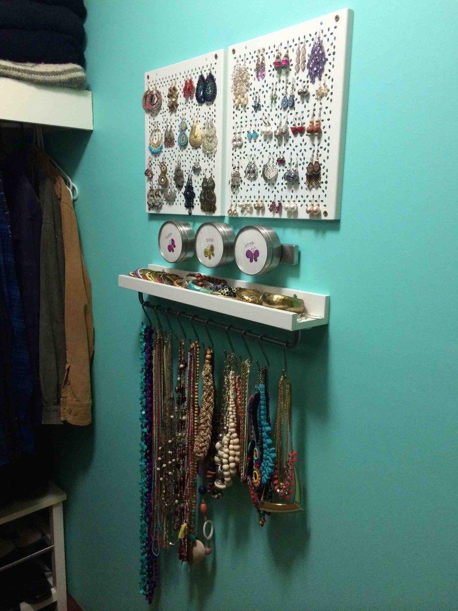 Jewellery Organizer Ikea : jewellery, organizer, VARIERA, Jewellery, Organiser, Hackers, Jewelry, Storage,, Organizer, Ikea,, Craft