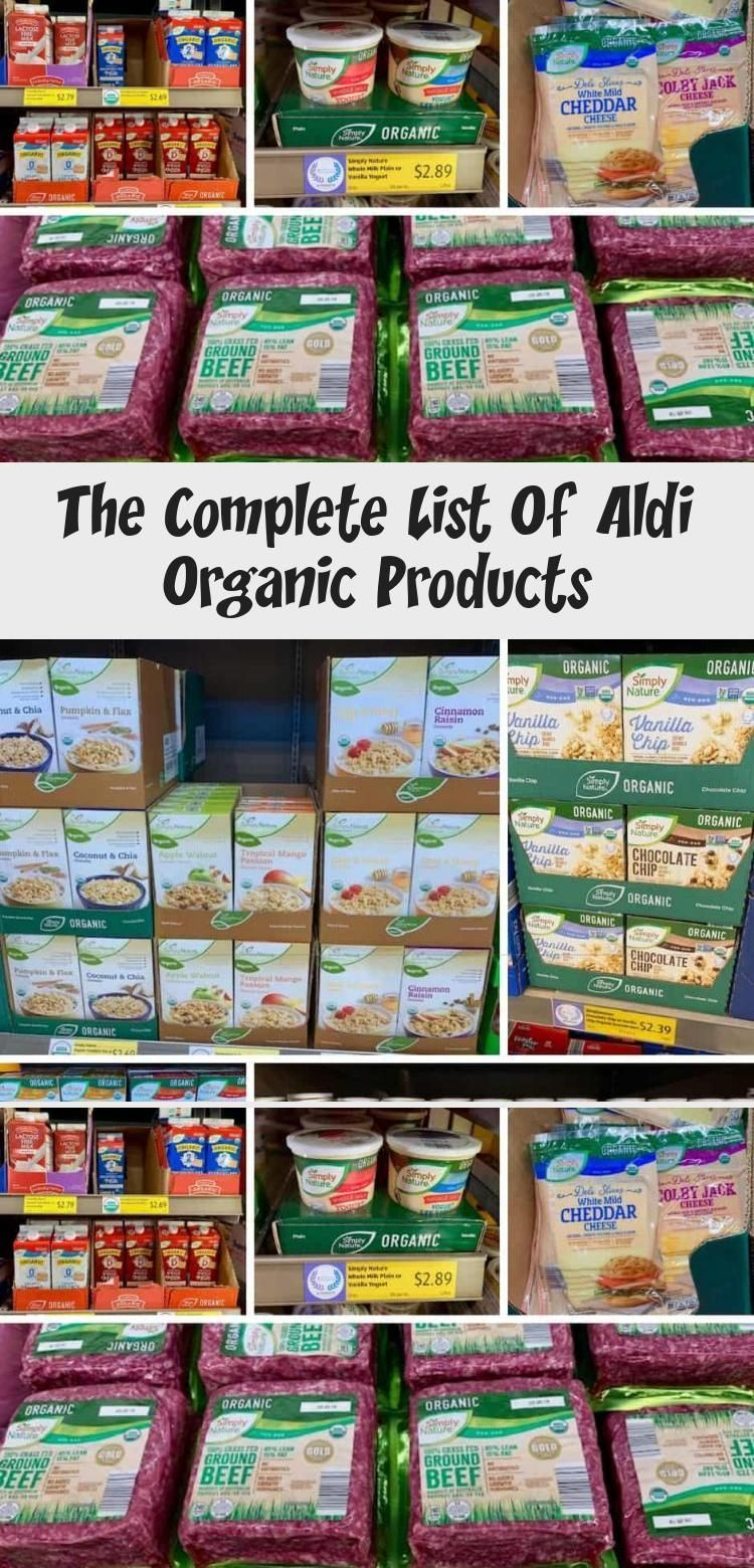 Aldi Complete Healthy List Meals Organic Informations About Aldi Complete Healthy Li In 2020 Aldi Organic Organic Recipes Healthy Food Recipes Clean Eating