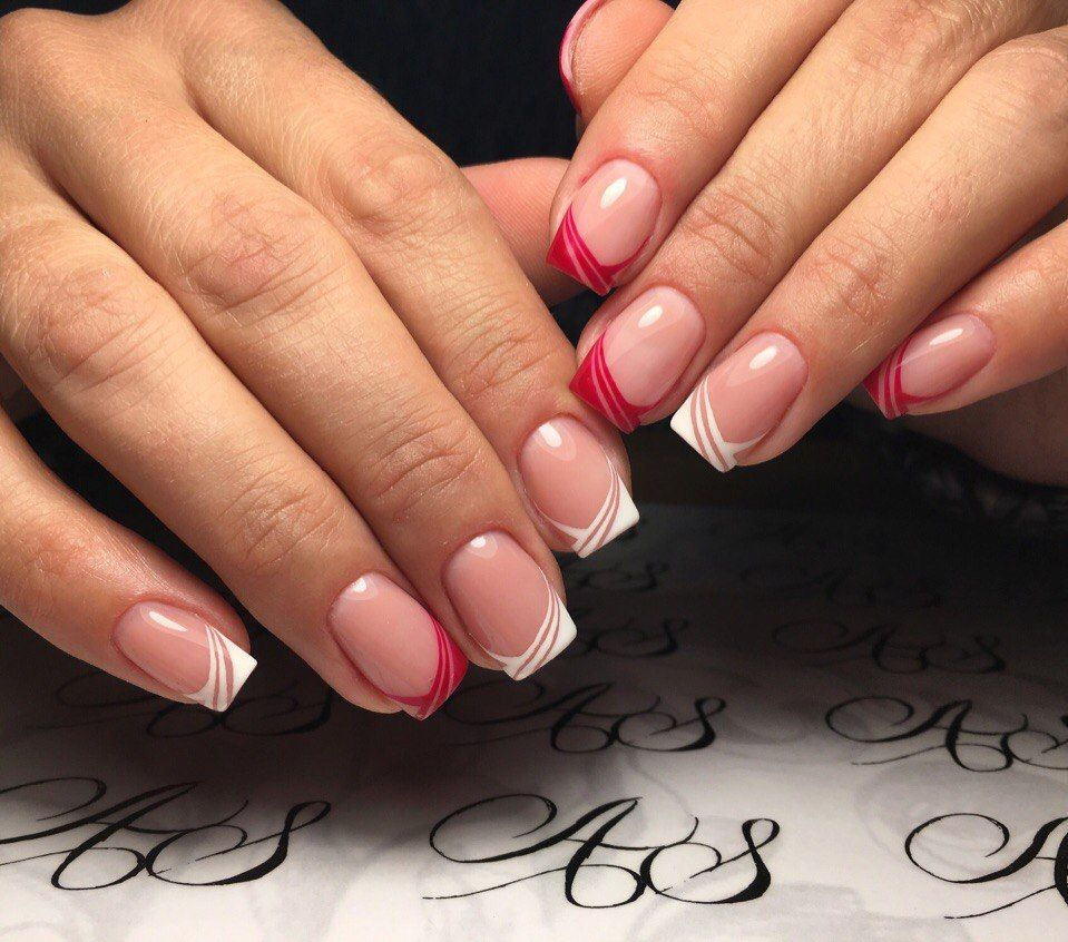 French Manucure Originale destiné nail art #2602 - best nail art designs gallery | nail french