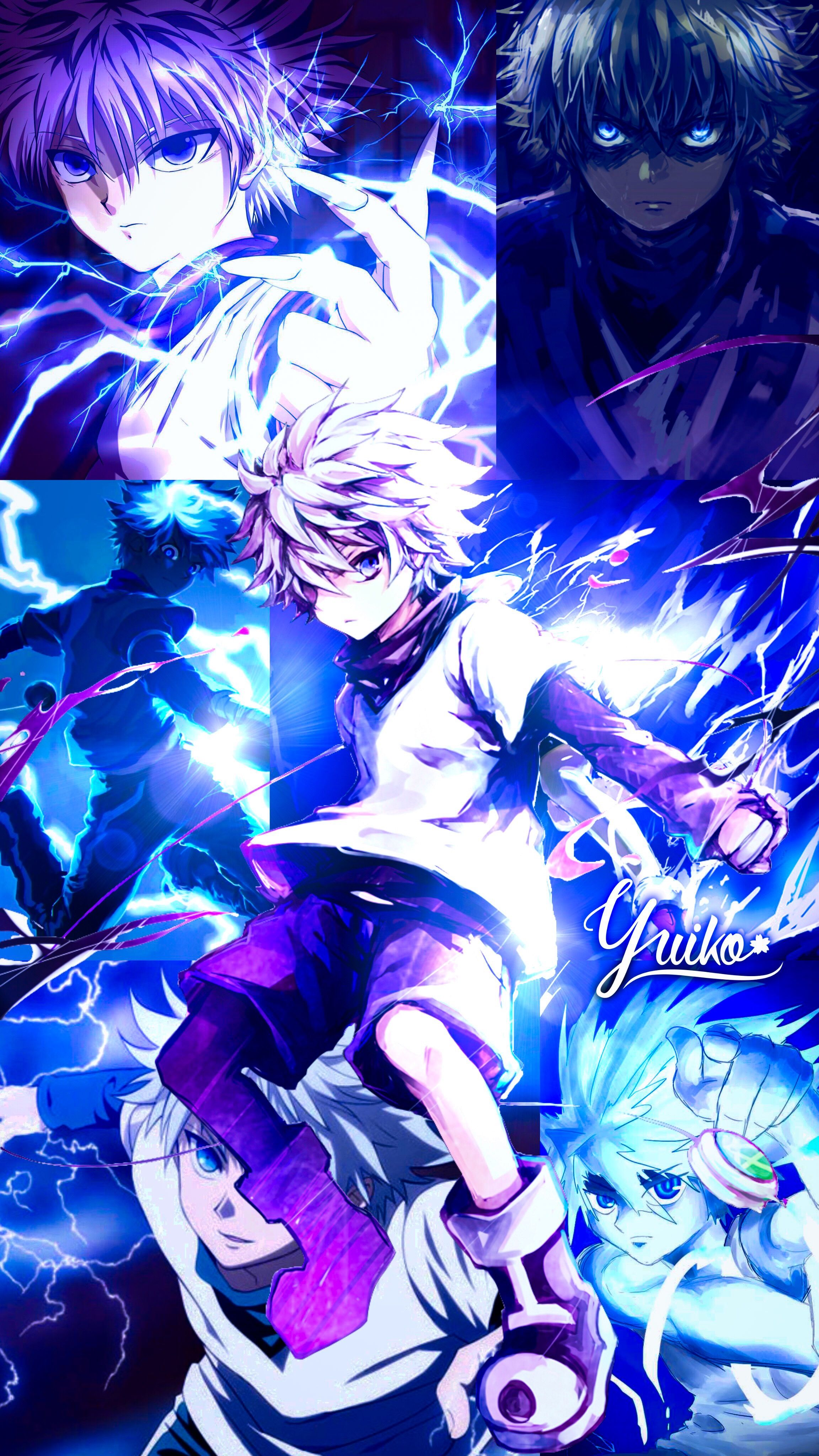Anime hd live wallpaper app and beautify your home screen with the best gon. Killua wallpaper by Yui-Yuiko - Hunter x Hunter | Hunter ...