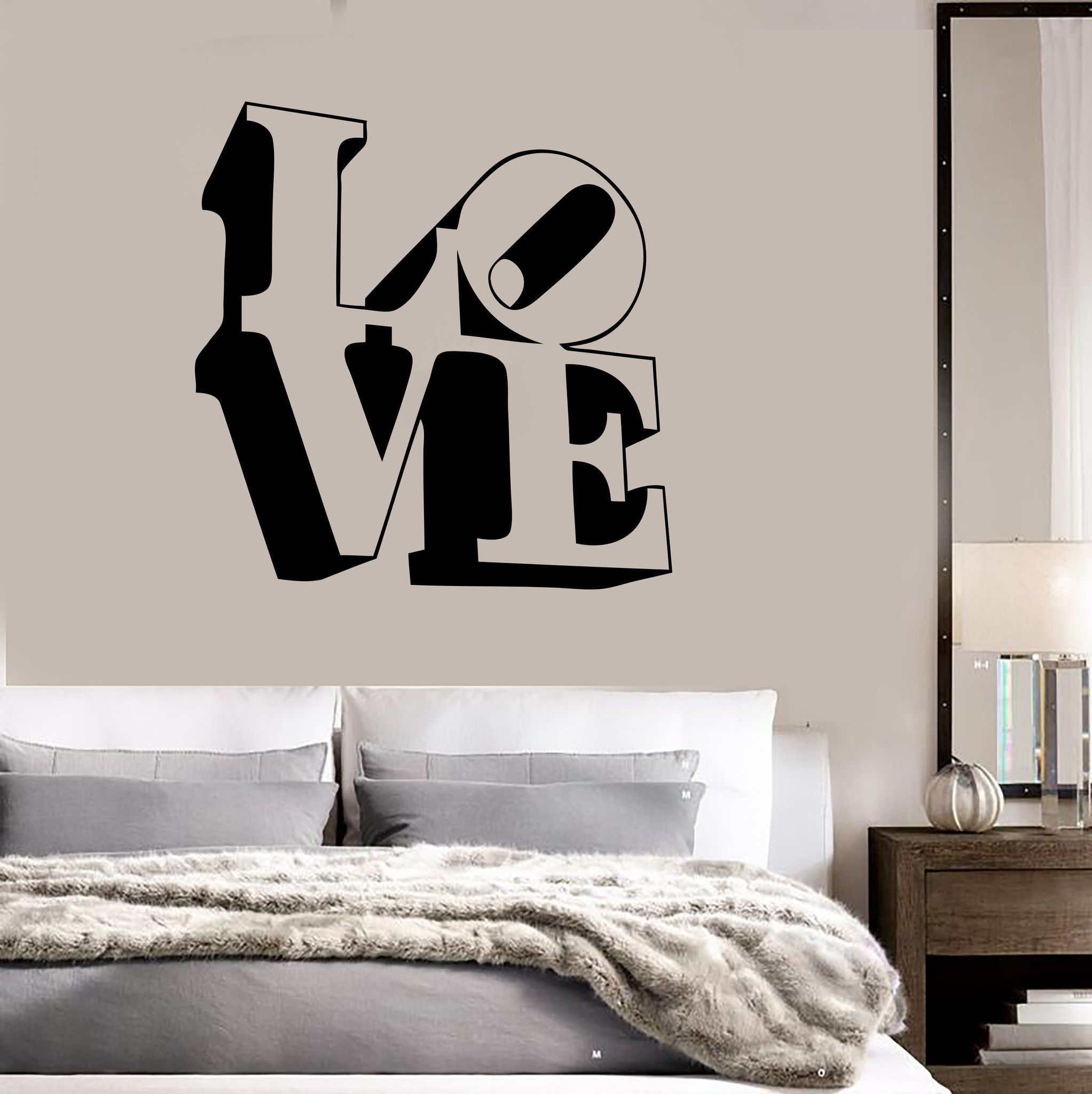 romantic bedroom wall decals. Vinyl Decal Love Lettering Romance Decor For Bedroom Wall Stickers (ig991) Romantic Decals L