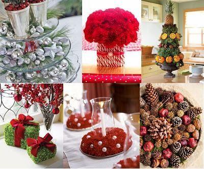Decorar la mesa del comedor para navidad dinning christmas for Arreglo sala comedor comedor