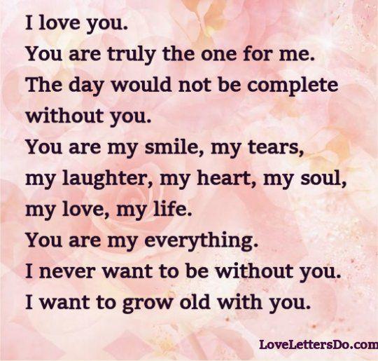 I love you letter don jaga Pinterest Feelings - love letter