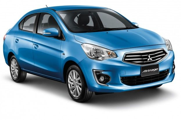 Mitsubishi Mirage Sedan Revealed Called Attrage In Thailand With Images Mitsubishi Cars Mitsubishi Mirage Sedan