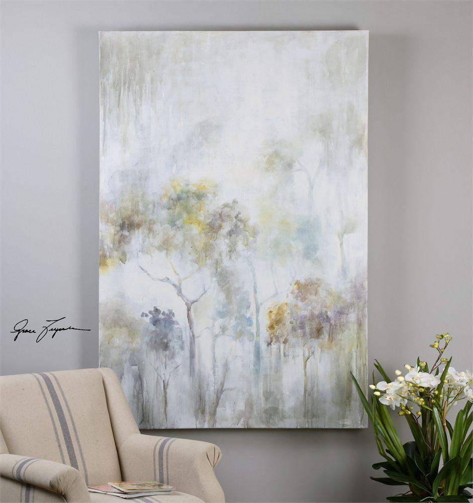 Uttermost sunshine thru the rain modern art livingdining room