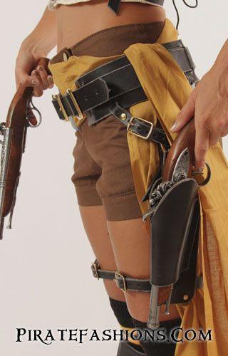 Treasure Raider Belt Set