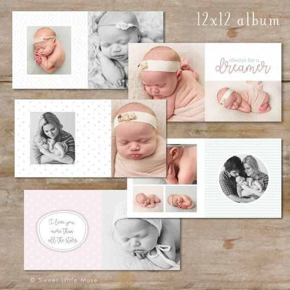 Baby Album Template For Photographers Baby Photo Book Template