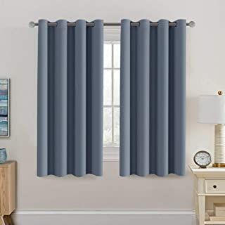 Blackout Thermal Insulated Curtains 63 Inche Length Light Blocking Curtain Panel Energy Saving Curtain 63 U In 2020 Curtains Insulated Curtains Light Blocking Curtains