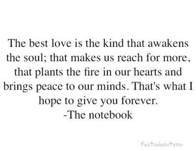 The Notebook Quotes The Best Kind Of Love The Best Kind of Love | something new | Pinterest | Quotes, Love  The Notebook Quotes The Best Kind Of Love