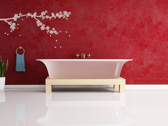 wall sticker white branches bathrooomwall decalspinterest - Wall Stickers Design Your Own