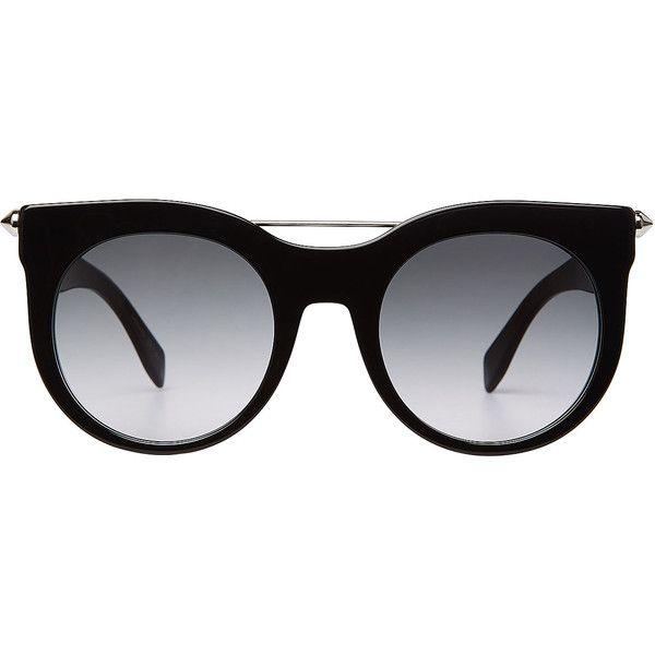 Me Tintado redonda Bar en montura accesorios Alexander con Con Polyvore de Piercing Gafas de 335 Mcqueen sol Gafas Gafas Negro ❤ sol gustó gFEwBFPq