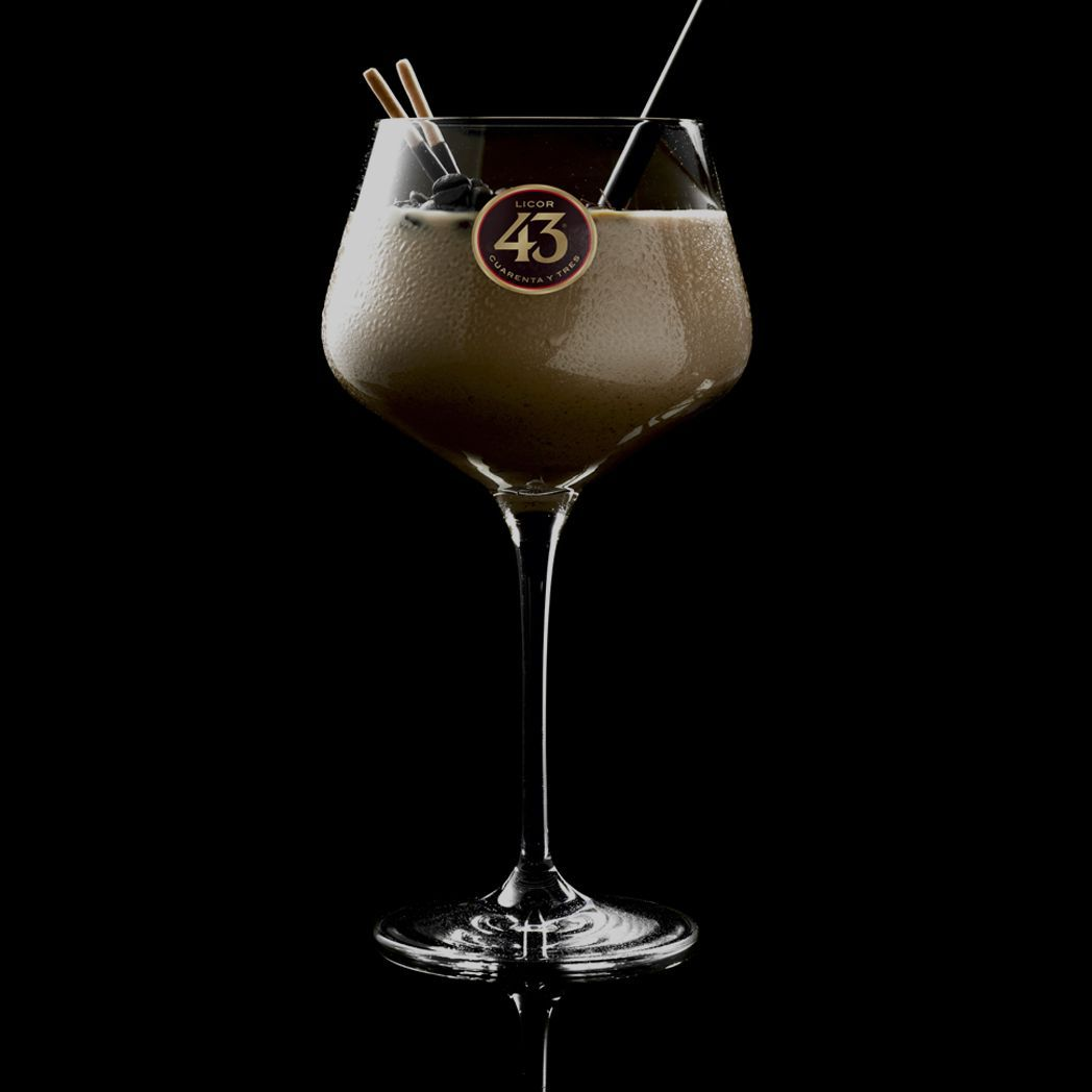A Luxuriously Creamy Liqueur Coffee With A Hint Of