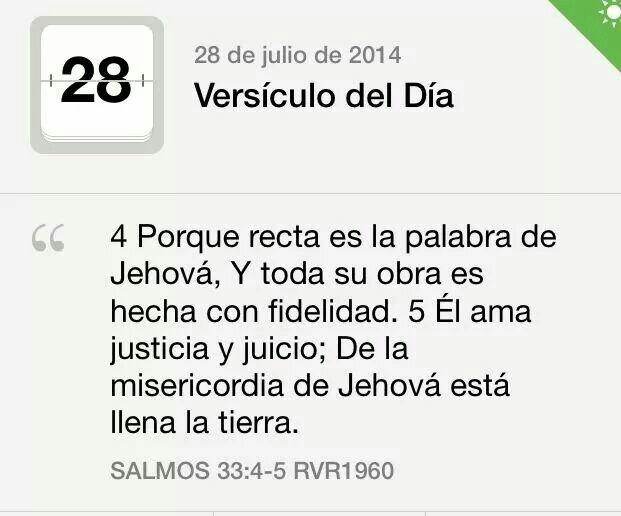 Salmos 33.4-5