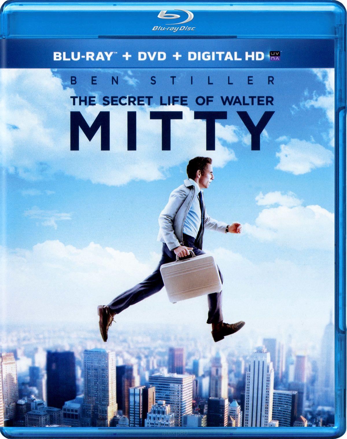 The Secret Life Of Walter Mitty Ben Stiller Blu Ray Vida