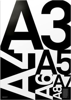 Positive Negative Space With Overlapping Numbers And Letters
