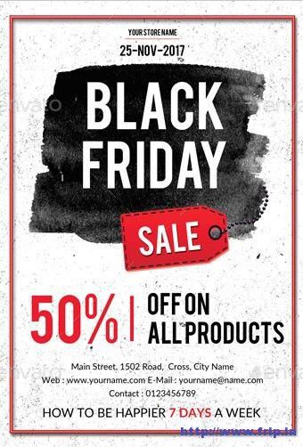 30 Best Black Friday Sale Flyer 2016 #BlackFriday http\/\/wwwfrip - coupon flyer template