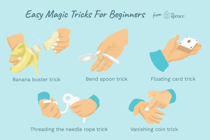 Einfache Zaubertricks Für Anfänger