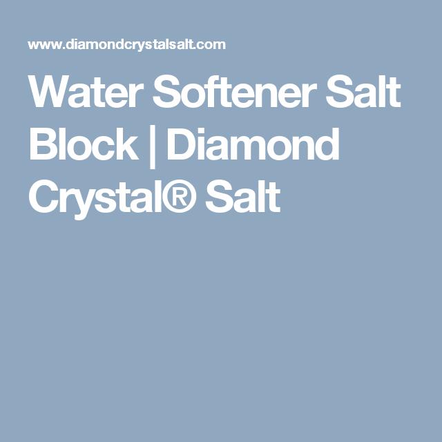 Water Softener Salt Block Diamond Crystal Salt Water Softener Salt Porterhouse Steak Salt Block