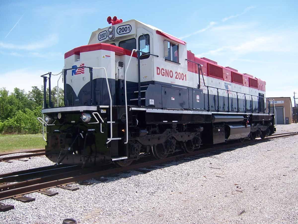 NViroMotive 3GS21C ULEL Unit Train engines