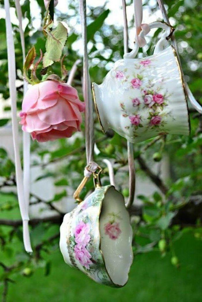 Gartendeko Selber Machen Vintage Dekoration Aufhängen