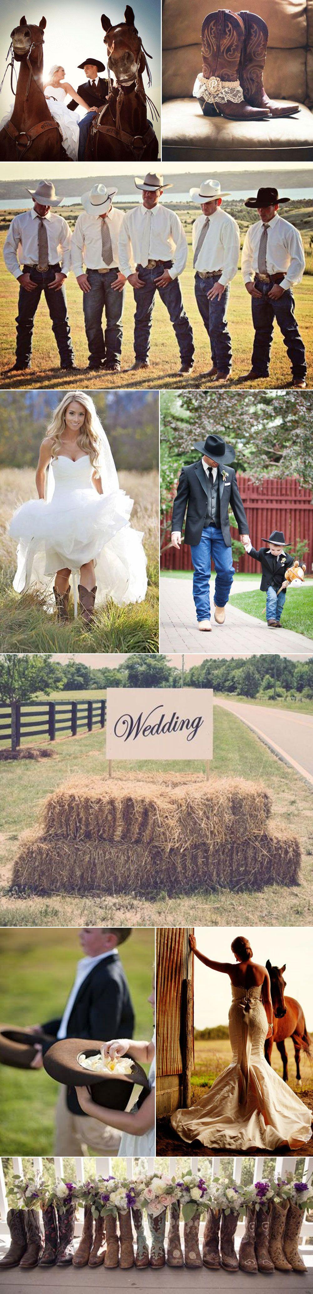 country western cowboy weddings   someday.   wedding