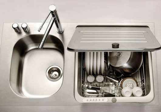Kitchen Sink From Ayliye Orgu Space Saving Kitchen Dishwasher
