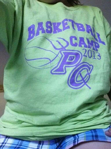 Basketball camp shirt!