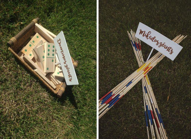 Mon mariage dino-chic : des jeux dextérieur DIY pour divertir tes invités