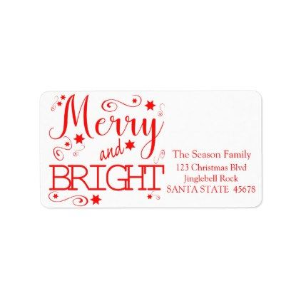 merry bright chalkboard stars holiday label pinterest