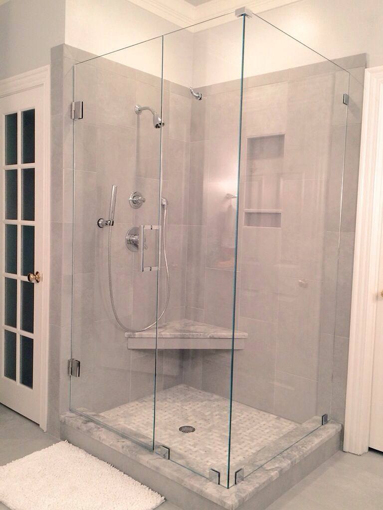 Grey is the new beige neutral modern use marble or for Bathroom gate design